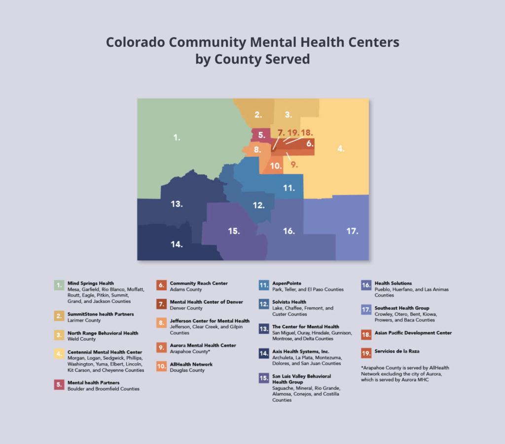 Colorado mental health centers